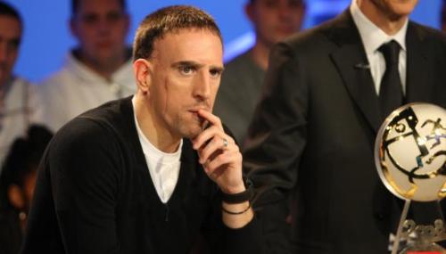 Franck Ribéry dénonce une «injustice» concernant le Ballon d'Or 2013