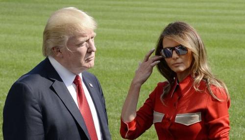 Melania et Donald Trump font chambres à part à la Maison-Blanche