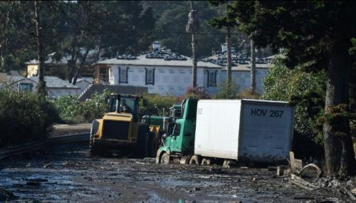 La Californie affronte des coulées de boue sans précédent