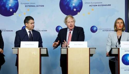 A Bruxelles, les Européens répètent leur soutien à l'accord nucléaire avec l'Iran
