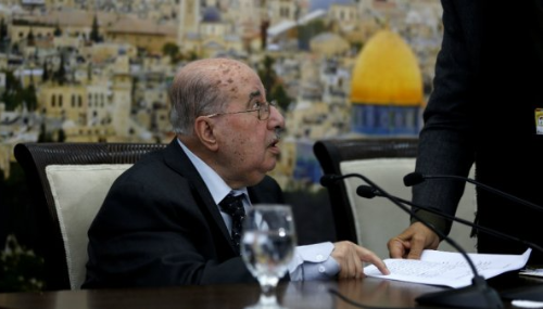 L'OLP se prononce pour une suspension de la reconnaissance d'Israël