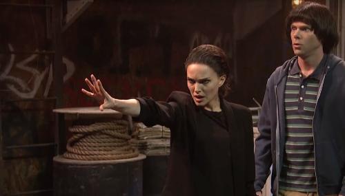 Natalie Portman se prend pour Eleven dans une improbable parodie de Stranger Things