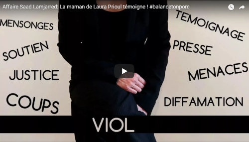Affaire Saad Lamjarred: La mère de Laura Prioul alerte les médias français