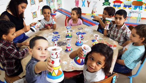 Enseignement préscolaire: plus de la moitié des enfants marocains n'est pas scolarisée