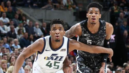 Le Utah Jazz remporte une dixième victoire consécutive en tenant tête aux San Antonio Spurs