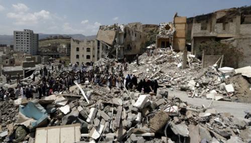 Yémen : une carte révèle l'ampleur des destructions à Sanaa