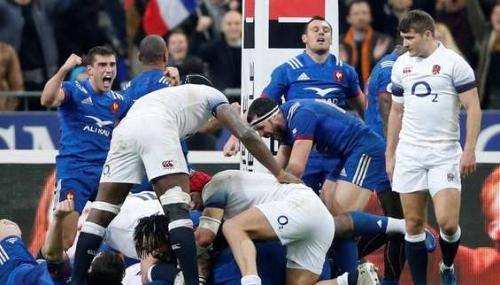 Tournoi des six nations : l'équipe de France de rugby «renverse la montagne» anglaise