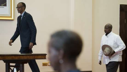 Paul Kagamé à Entebbe pour décrisper les relations avec son voisin ougandais