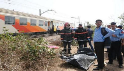Salé: un jeune homme meurt, percuté par un train