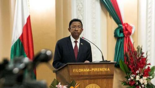 Madagascar: le président Hery Rajaonarimampianina candidat à un second mandat