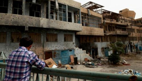 Un an après la défaite de l'EI, le principal hôpital de Raqa toujours en ruine