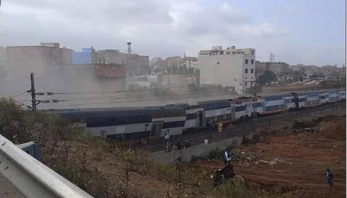 Un train de l'ONCF déraille entre Salé et Kénitra !