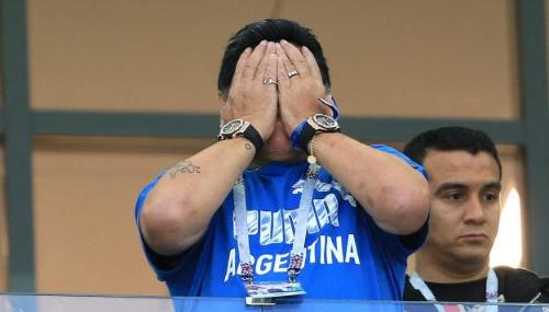 Diego Maradona à propos de la disparition de l'avion d'Emiliano Sala : «Une malchance terrible»