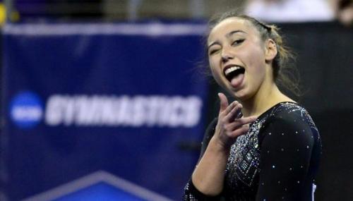 Qui est Katelyn Ohashi, la gymnaste américaine qui a enflammé le web ?