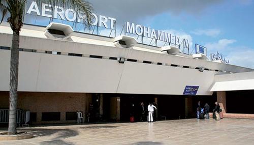 """Résultat de recherche d'images pour """"l'Aéroport Mohammed V"""""""