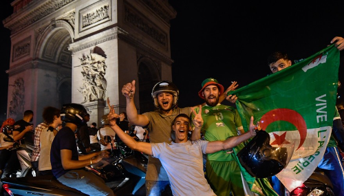 CAN 2019 : Scènes de liesse dans plusieurs villes en France après la victoire de l'Algérie