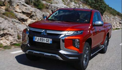 Le nouveau pick-up Mitsubishi L200 à partir de...