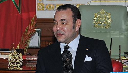 SM le Roi félicite M. Abdelmadjid Tebboune, suite à son élection président de l'Algérie
