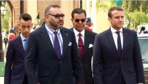 La visite d'Emmanuel Macron au Maroc a été reportée
