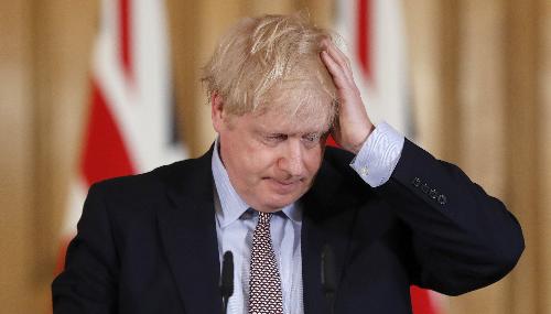 Boris Johnson testé positif au Covid-19
