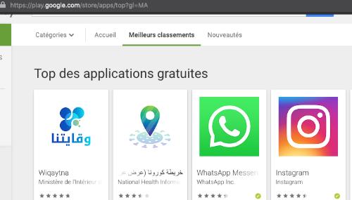 Wiqaytna en tête des tendances de téléchargement au Maroc