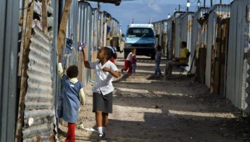 Afrique du Sud : Plus de la moitié des enfants vivent dans la pauvreté