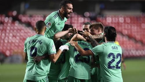 LaLiga : Le Real Madrid se rapproche du titre
