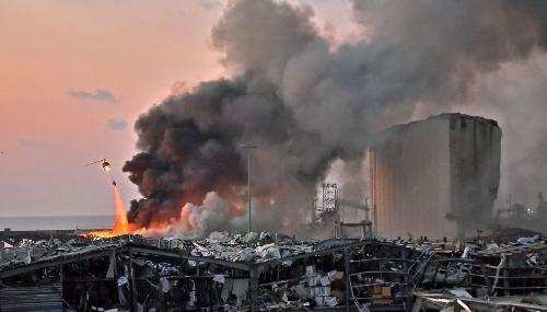 Explosions à Beyrouth : La communauté internationale se mobilise