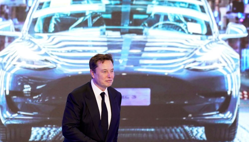 Elon Musk promet une batterie moins chère, Tesla perd 50 milliards de dollars