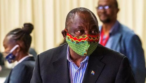 Afrique du Sud : Le président Ramaphosa se met en quarantaine