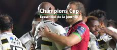 Coupe d'Europe : L'essentiel de la 1re journ