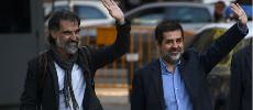 Catalogne : deux chefs indépendantistes placés en détention préventive pour sédition