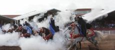 Vidéo. Salon du cheval: coup d'envoi du Grand Prix SM le Roi Mohammed VI de tbourida
