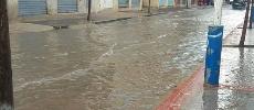 Diapo. Tanger: cinq accidents à cause de la pluie