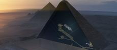 Égypte : Une cavité grande comme un avion découverte dans la pyramide de Kheops