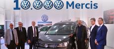 Volkswagen passe à nouveau le cap des 10.000 ventes annuelles