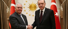Tillerson rencontre Erdogan à Ankara pour tenter d'apaiser les tensions