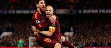 Lionel Messi et le Barça accrochent Chelsea en 8es de finale aller de la Ligue des champions