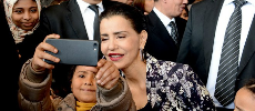 Photo du jour: le selfie de la princesse Lalla Meryem