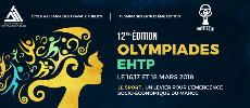 12ème édition des OLYMPIADES EHTP 16 et 17 Mars 2018