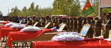 Le Burkina a rendu hommage à ses militaires tués dans les attentats de Ouagadougou