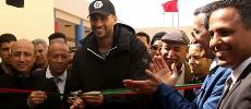 Diapo. Kénitra: Badr Hari revient sur les bancs de l'école