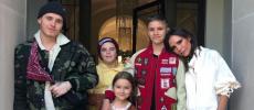 Victoria Beckham fête ses 44 ans entourée de ses enfants