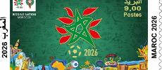 Barid Al-Maghrib lance un timbre-poste «Maroc 2026»