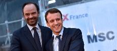 Sondage: popularité en hausse pour Emmanuel Macron et Édouard Philippe