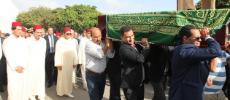Le prince Moulay Rachid aux funérailles de l'ancien Premier ministre Mohamed Karim Lamrani