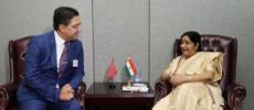 Diplomatie. La MAE indienne attendue à Rabat dimanche prochain