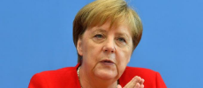Angela Merkel en forme contre Trump