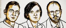 Le prix Nobel d'économie à Esther Duflo, Abhijit Banerjee et Michael Kremer