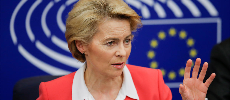La présidente de la Commission européenne présente ses excuses à l'Italie